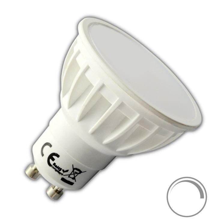 GU10 LED Leuchtmittel 6W warmweiß wahlweise dimmbar/nicht dimmbar