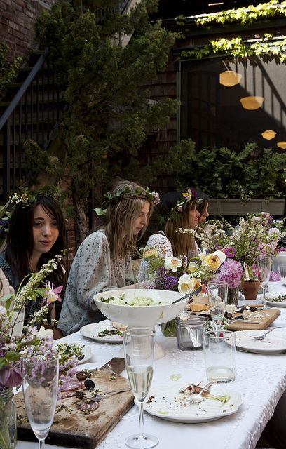 Kinfolk Magazines Flower Pot-Luck | Amy Merrick | Flickr - Photo Sharing!