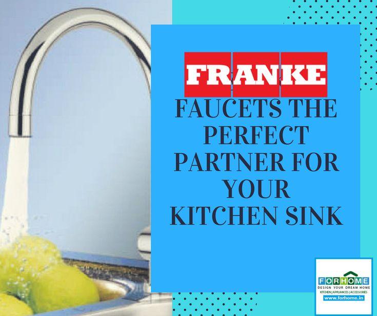 FRANKE Faucets: Partner of your Kitchen Sinks  #franke #frankefaucets #kitchensink #frankesink