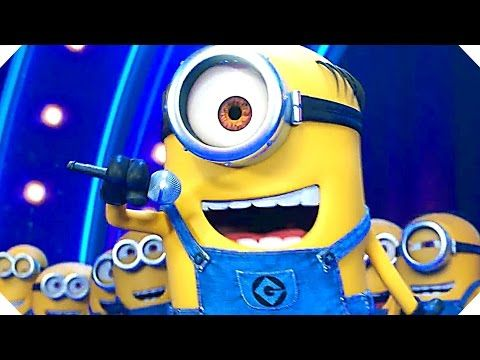 """DESPICABLE ME 3 """"Minions Sing"""" Movie Clip (Song, 2017) Animation New Movie HD - YouTube"""
