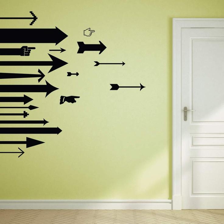 Directional Arrows Decal Set