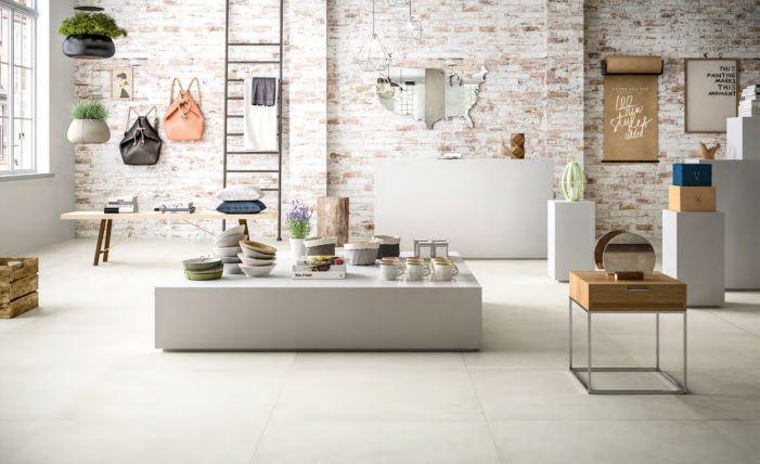 Mood van Astor is een collectie keramische tegels met een zeer realistische beton uitstraling in drie warme grijs tinten en de kleur van witte kalk. Craquelé, watervlekken, alle effecten die een beton karakteriseren zijn te vinden in deze tegels. De industriële look laat zich mooi combineren met hout en zwart staal. Door het brede spectrum aan afmetingen van 80×80 en 60×120 tot 20×20 cm kan het in elke ruimte toegepast worden. De patchwork decor tegels en de zeskant tegels maken het geheel…