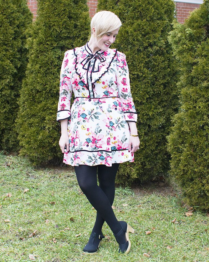 Garden Tour Floral Dress  - Truly, Tamara