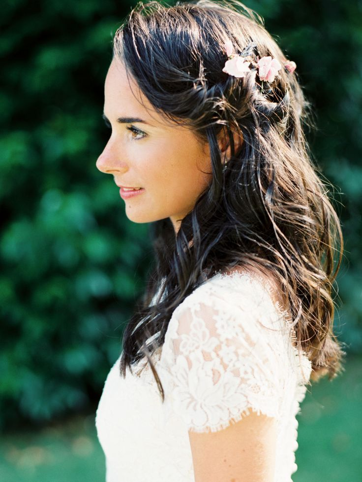 #hairstyles  Photography: Erich McVey Photography - erichmcvey.com  Read More: http://www.stylemepretty.com/2014/04/08/romantic-french-chateau-wedding/