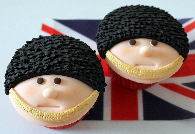 Queens birthday cupcakes 022 by Victorious Cupcakes, via Flickr #UK #london