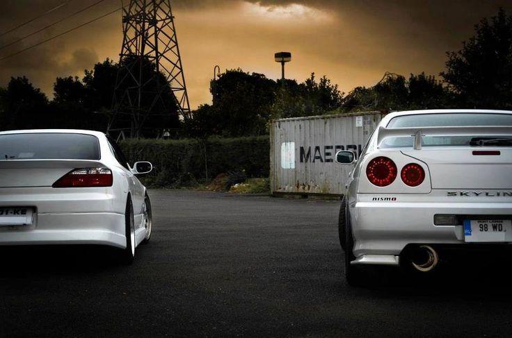 West Palm Nissan >> Nissan Silvia S15 & Skyline R34 GTR | Cars | Pinterest ...