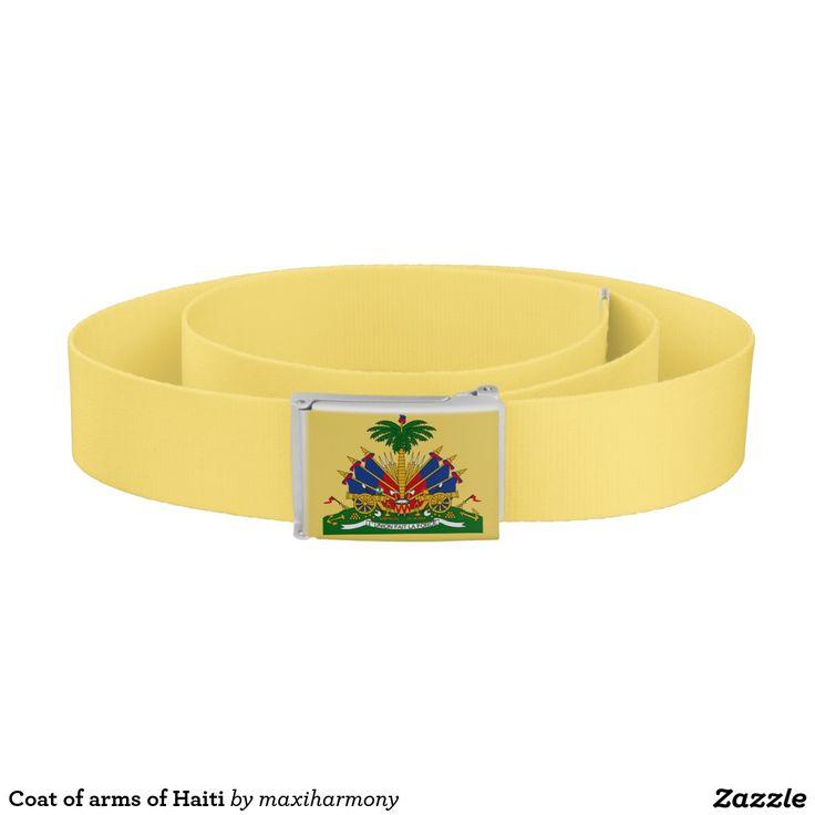 Coat of arms of Haiti Belt