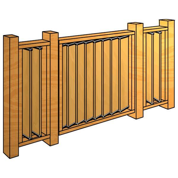 FLEX-fence-bâtiment-a-Post-Balustrade