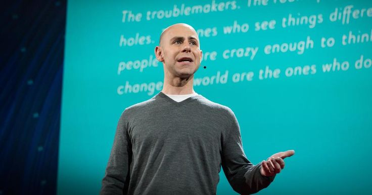 Adam Grant: The surprising habits of original thinkers . . . A little procrastination is OK because you need time to think!!! Creativity takes time :-)