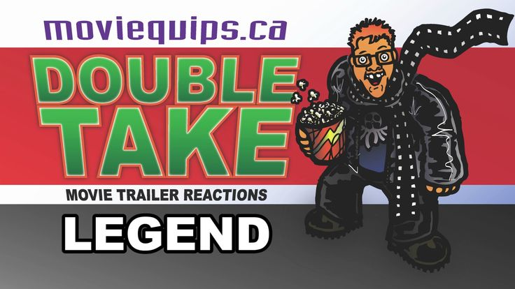 LEGEND - Tom Hardy's Kray Brothers movie trailer reaction. Video by Stephen Bourne, moviequips.ca