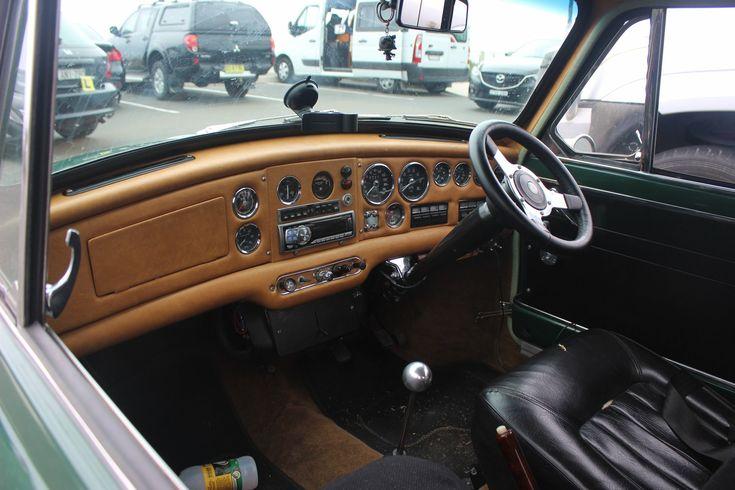 Inside the 1968 Mini Cooper S