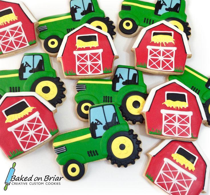 https://flic.kr/p/GgQajS | Tractors & barn cookies