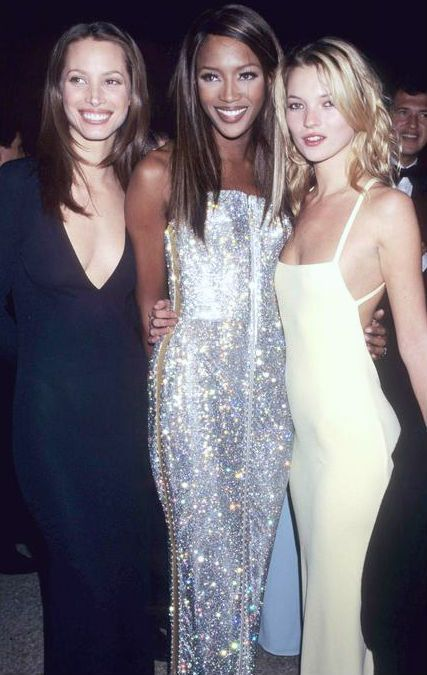 Kate moss, Naomi Campbell