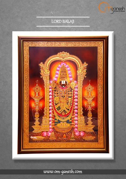 We bow our head to the Great Lord Balaji, the ultimate symbol of existence, may he always shower his blessings on his devotees and uplift humanity with the power of his love.