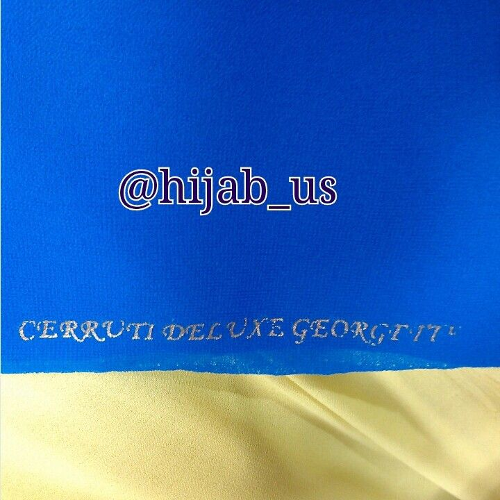 Tekstur dari cerruti deluxe georgette
