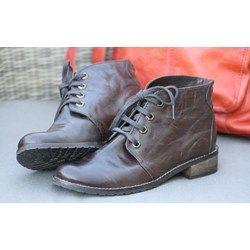 Dixie sko brun