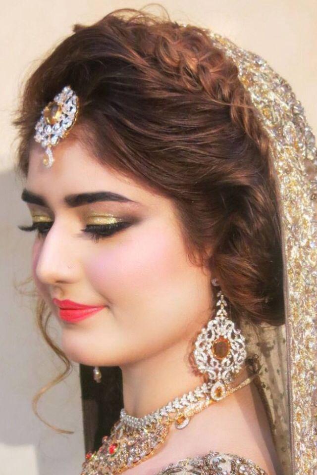 Beautiful bride makeover done by #NatashaSalon #IHeartNatasha ❤️