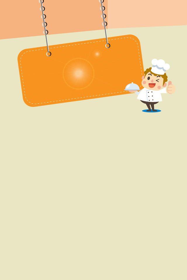 Menu Recipe Cartoon Background In 2020 Cartoon Background Food Menu Menu Restaurant