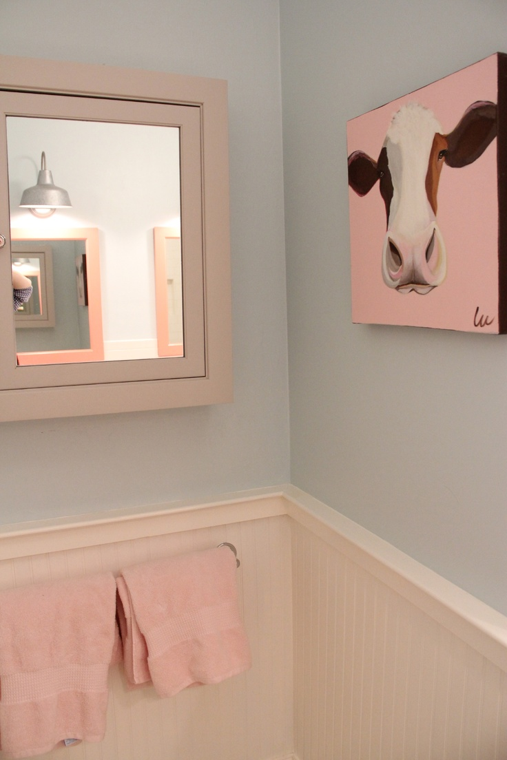 Best Cow Bathroom Images Oncows Cow Print and