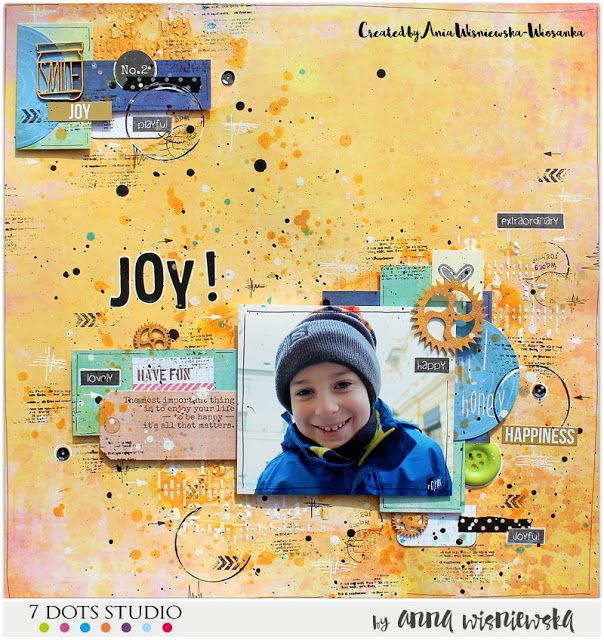 Joy! - 7 Dots Studio February challenge