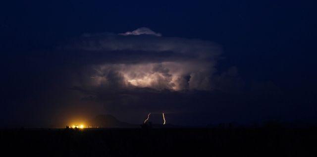 Dramatic night sky. © John McIlvaine