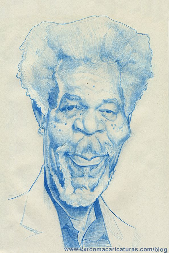 Carcoma Caricaturas Morgan Freeman Caricaturas