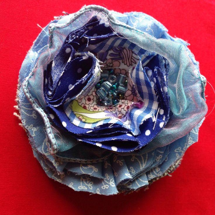 Boho flower brooch from my Etsy shop https://www.etsy.com/uk/listing/476981933/boho-flower-brooch-vintage-inspired