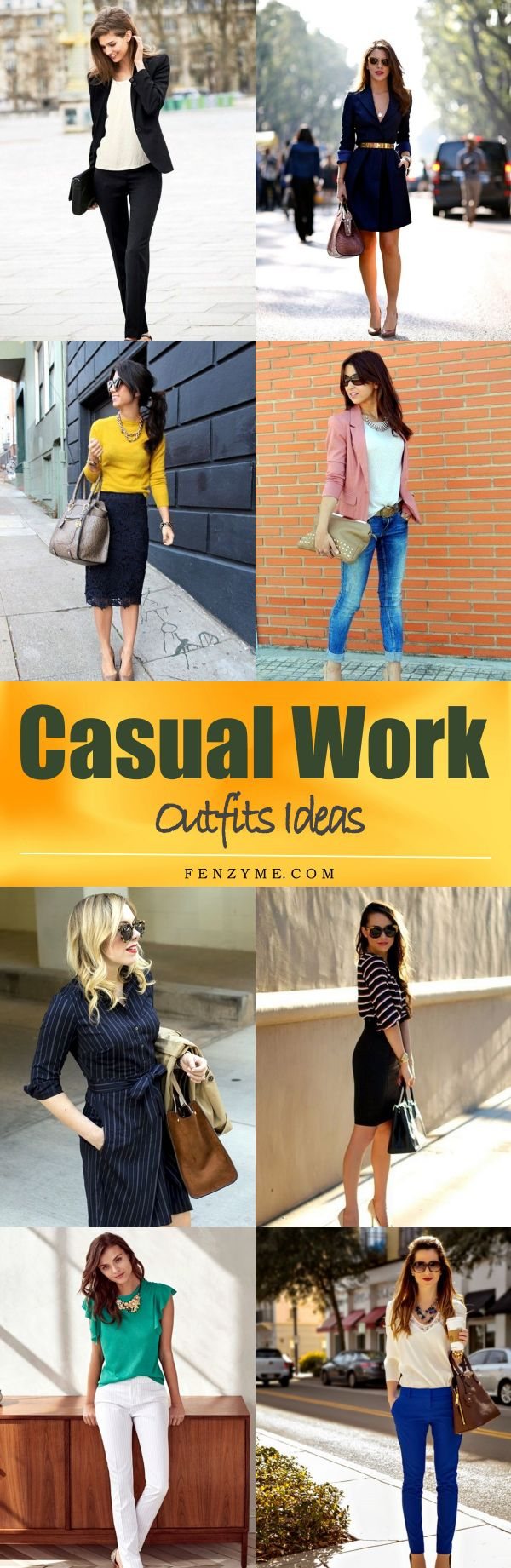 75 Casual Work Outfits Ideas 2017