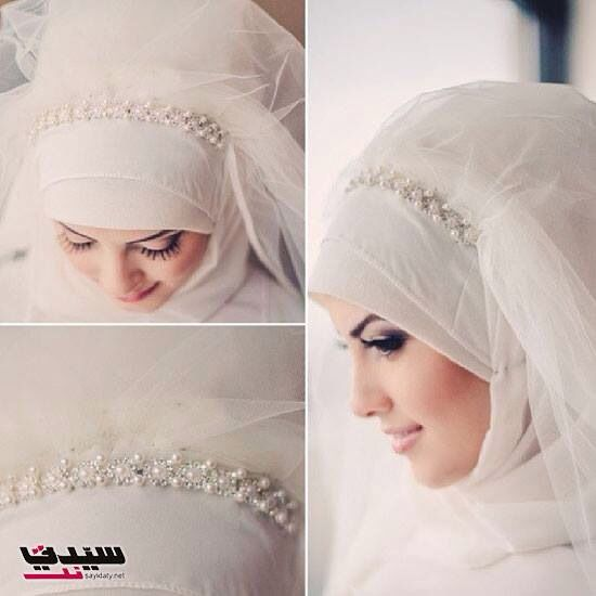 heeaave..finally flair n fashion mental image of vintage/bridal/ elegant hijab veil has been created. - #hijab bride