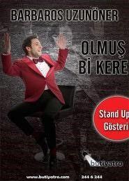 Olmuş Bi Kere • Yer: Halis Kurtça Kültür Merkezi, İstanbul • Zaman: 30 Nisan • #8Olog #Gösteri #Eğlence #StandUp