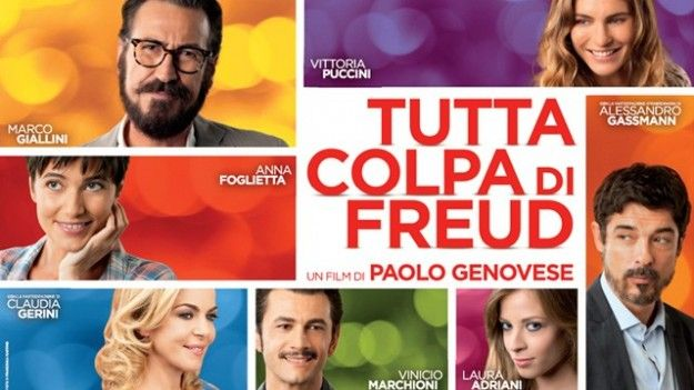 Tutta colpa di Freud, su canale 5 assieme a Romeo e Giulietta, Il bosco e Senza identità