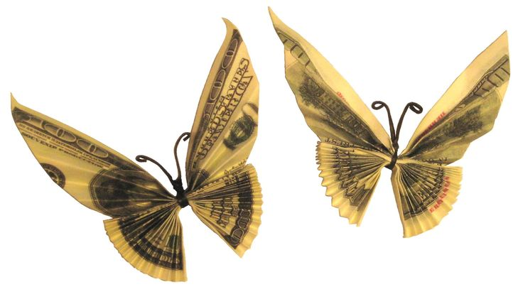 How to Make Money Butterfly Tutorial