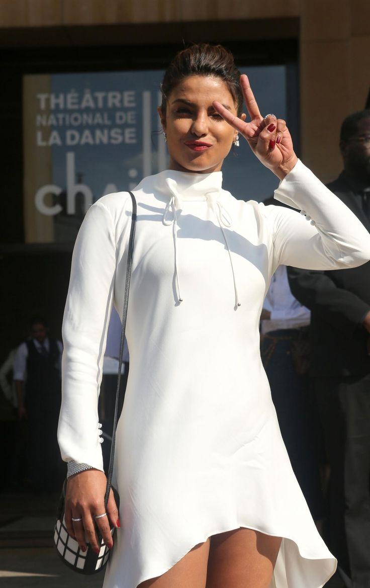 PRIYANKA CHOPRA at Giorgio Armani Prive Haute Couture Show in Paris 07/04/2017