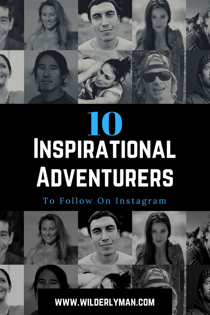 10 inspirational adventurers to follow on instagram - outdoor adventurers - Alex Honnold, Jimmy Chin, Clair Marie, Renan Ozturk, Steph Davis, Chris Burkard, Alison Teal, Dean Potter, Mark Healy, Kimi Werner