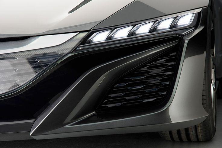 2015 acura NSX hybrid concept at NAIAS