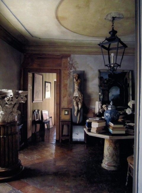 MILAN, ITALY- AN ENTRANCE HALL