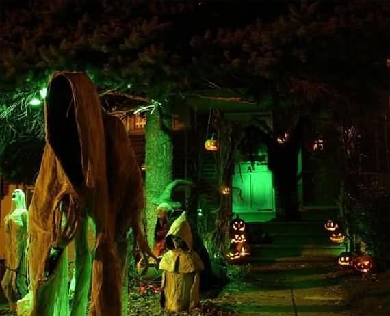 best outdoor Halloween decoration ideas, best outdoor Halloween - halloween outside decoration ideas