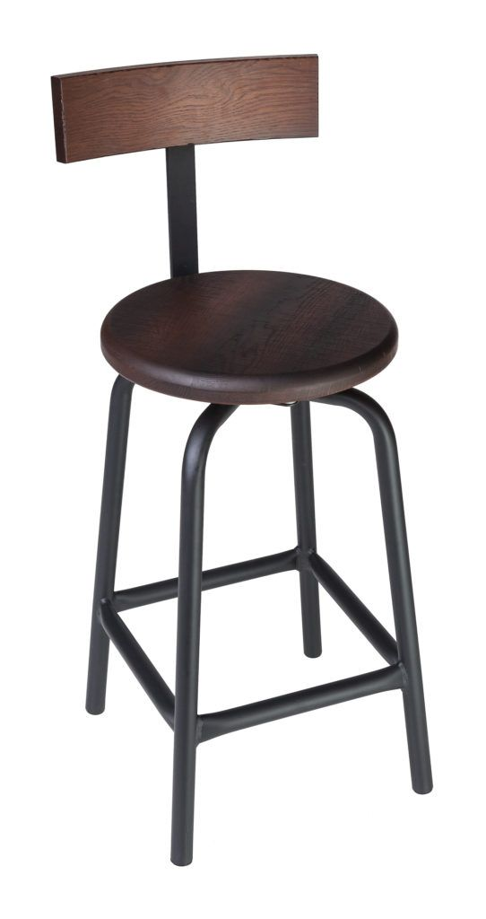 Swivel Pub Stool with Back