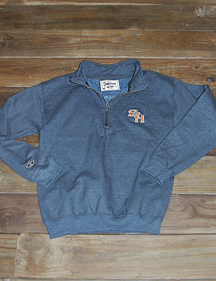 Stay warm and cozy this fall & winter in this Sam Houston State pull-over! Ya, it's super comfy!