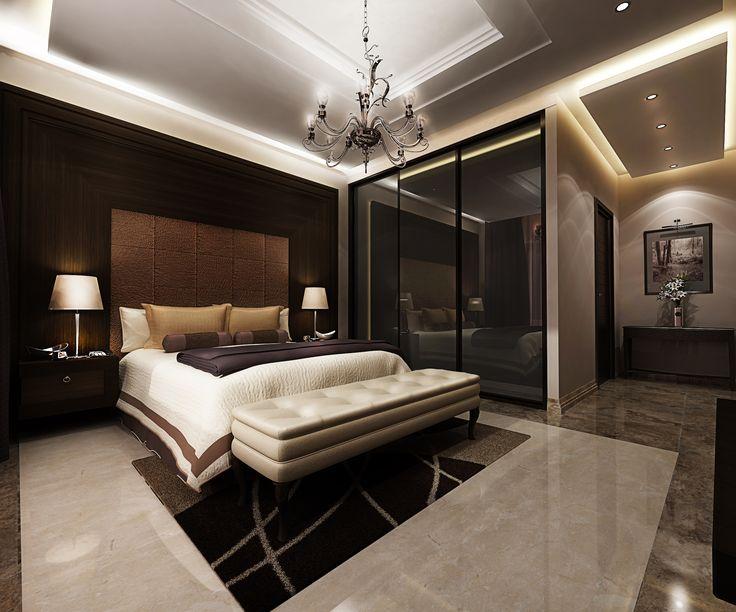 3d Rendering Design Proposal Interior Design Decoration Master Bedroom