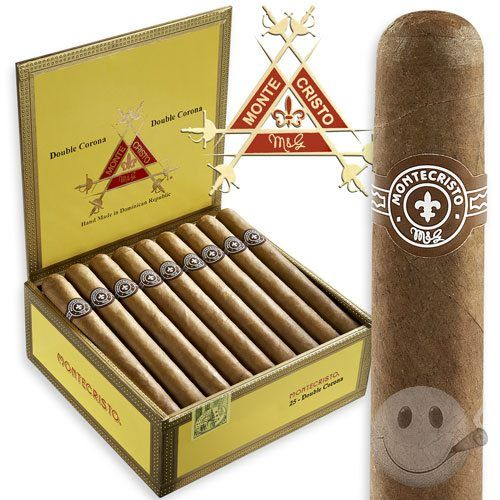 Montecristo - the Double Corona is my favorite size. - coconuts