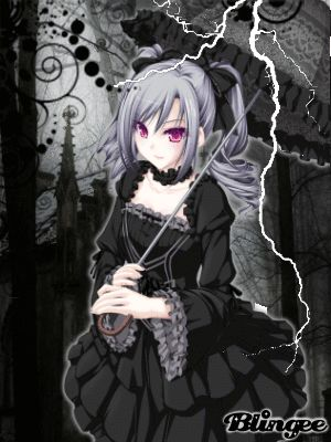 Gothic Anime Girls With Black Hair Google Search Anime