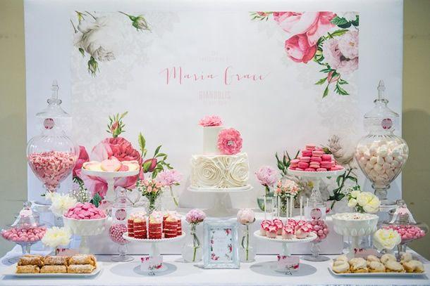 festa primavera/ decoração flores primavera, festa rosa, festa infantil menina, festa batizado, festa das flores
