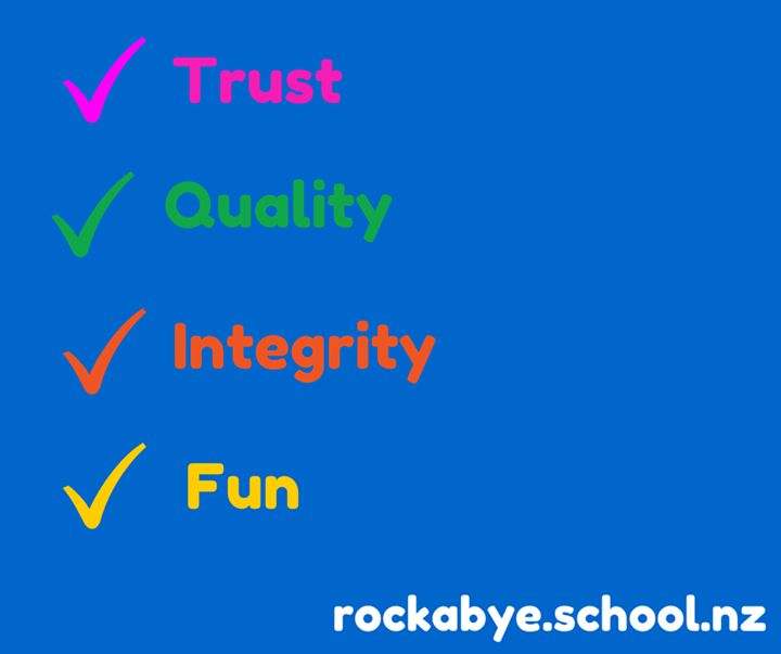 Do you know why we are in the top 5% of Early Learning Centres in NZ?  Come and see for yourself what our centre has to offer. http://rockabye.school.nz/