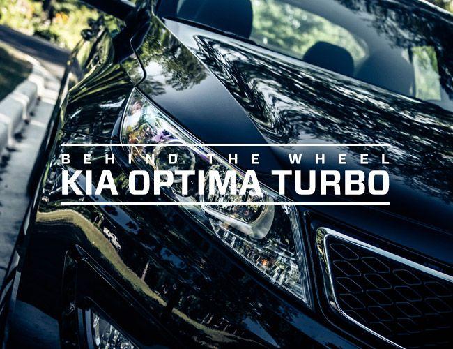 Behind The Wheel: 2013 Kia Optima SX T-GDI