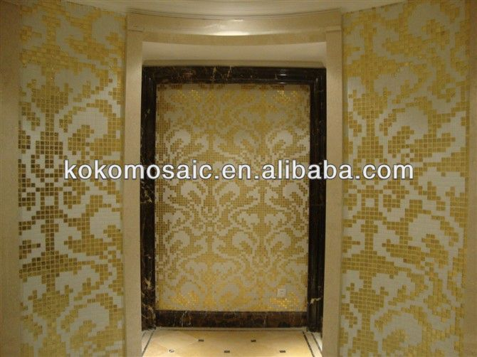 Bisazza Glass Mosaic Wallpaper Borders For Bathroom