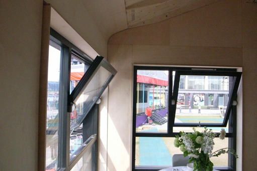 Accoya® windows made for Grand Designs