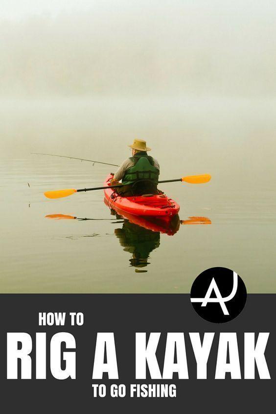 Kayak Fishing Rigging - Kayak Fishing Gear and Accessories – Kayak Fishing Tips and Setup Ideas for Men and Women #kayakideas #kayaktips #kayakwomen #kayakforwomen