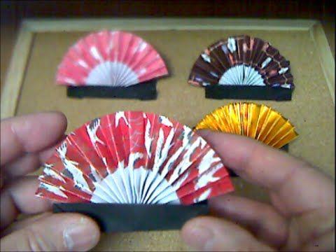 扇の折り方 fan - YouTube