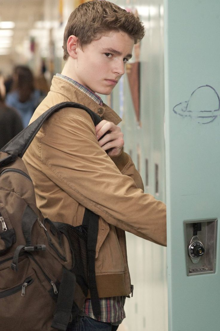 Character inspiration for Josh. And someone drew a planet on his locker to make fun of him.